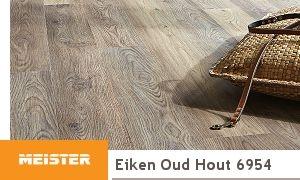 Meister laminaat dd eiken oud hout unieke werkwijze
